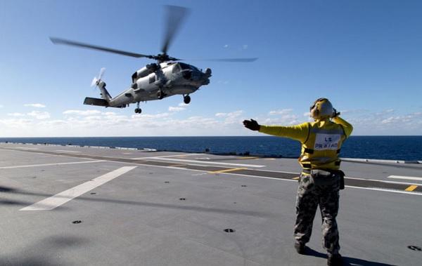 MH-60R helicopter (Photo: shephardmedia.com)