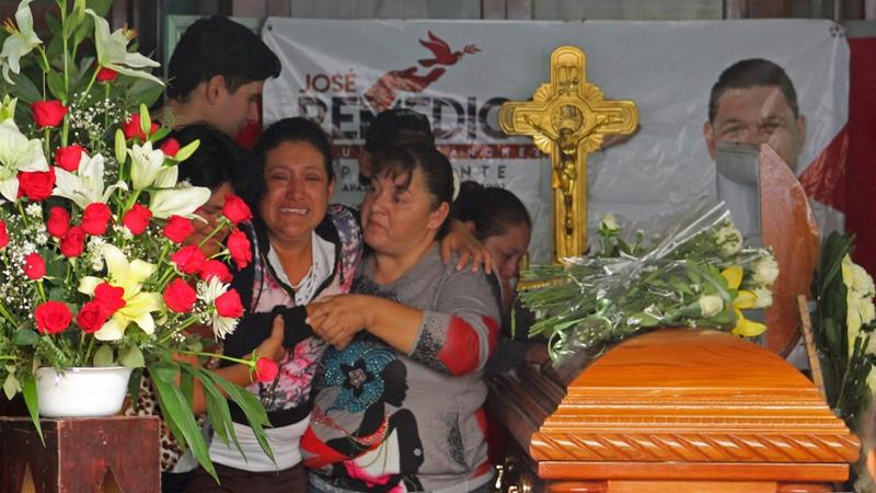 Jose Remedios Aguirre was killed by gunmen in the town of Apaseo El Alto, according to officials in Guanajuato state. Photo: [Gustavo/Becerra/AFP]
