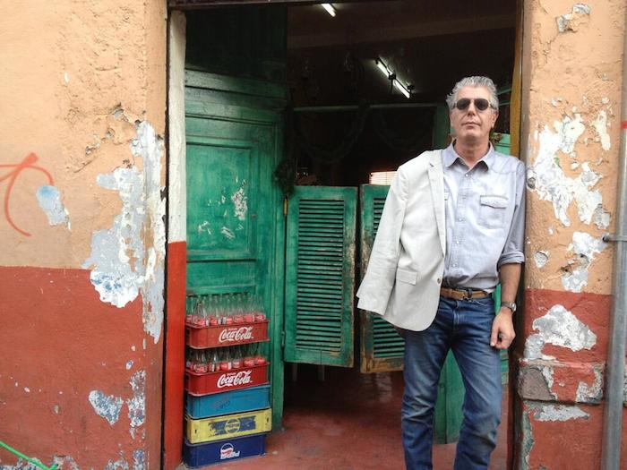 Bourdain in Mexico