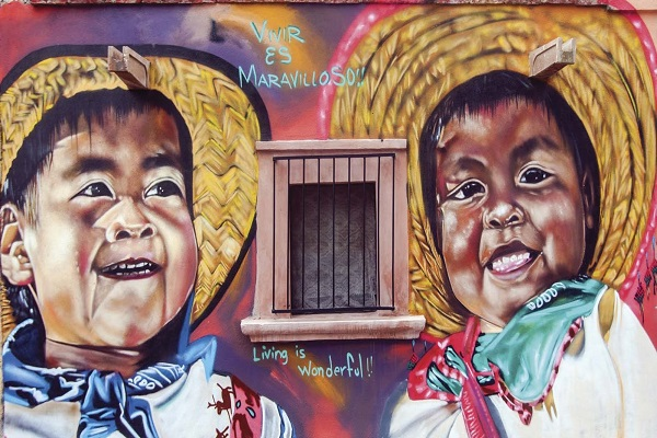 kid mural