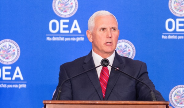 US Vice President Mike Pence (Photo: Archive)