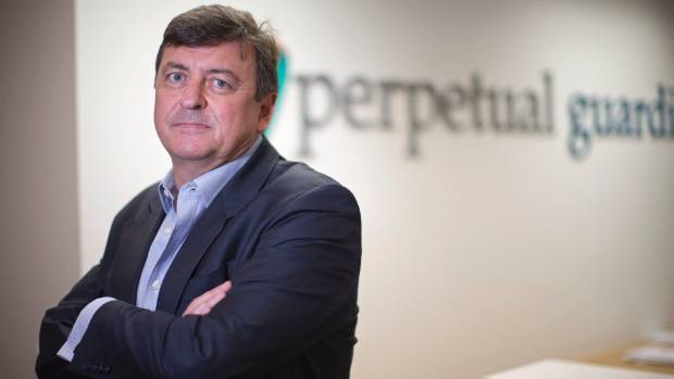 Andrew Barnes, managing director of corporate trustee company Perpetual Guardian.