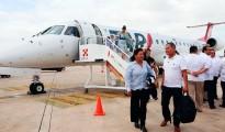 Inauguran-la-nueva-ruta-aérea-Mérida-Querétaro