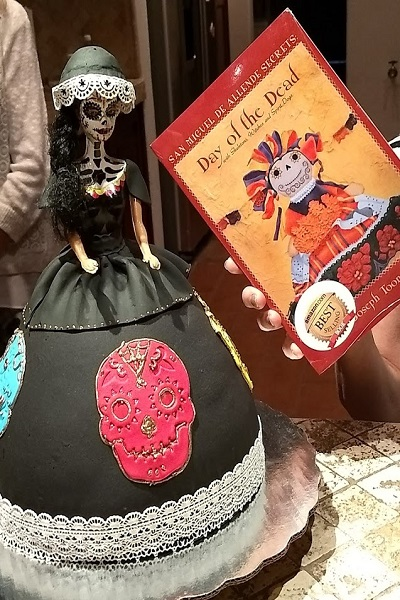 catrina and book