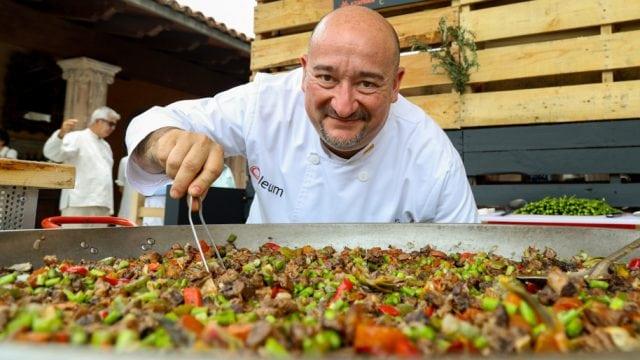 chef paella
