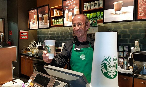 Starbucks said the opening builds on an employment agreement it signed with the National Institute for Older Persons (INAPAM) in 2011 to offer seniors job opportunities that will improve their quality of life. (Photo: Banderas News)