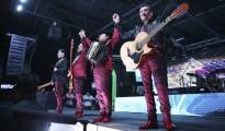 Los Tigres del Norte perform during a show at Farwest Dallas in 2007. (Omar Vega/CON / LatinContent/Getty Images)