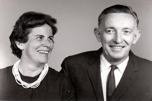 John and Phyllis in Pearls