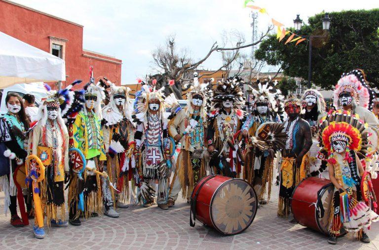 Danzas indígenas Comonfort (Photo: saladeprensadigital.mx)