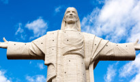 Shutterstock The current record holder for largest statue of Jesus Christ in the world is the Cristo de la Concordia in Cochabamba, Bolivia